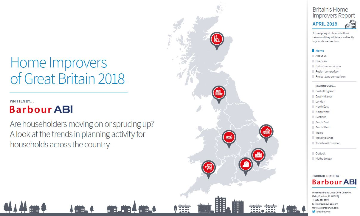 Regional Construction Hotspots in Great Britain 2017