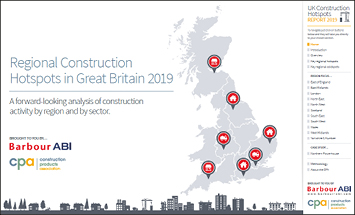 Regional Construction Hotspots in Great Britain 2019