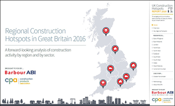 Regional Construction Hotspots in Great Britain 2016